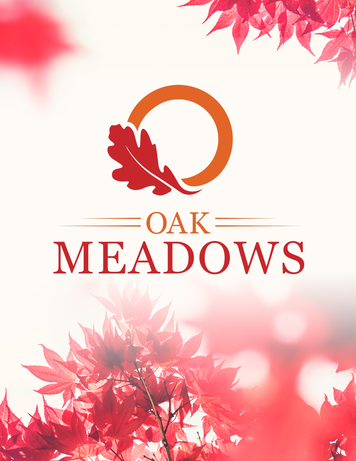 Oak Meadows logo design