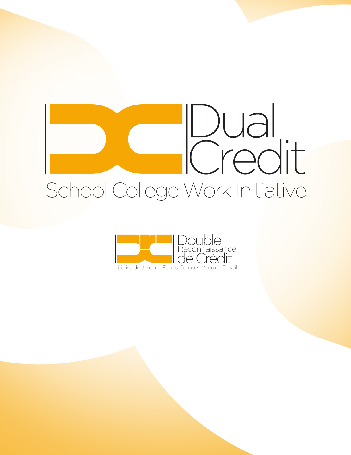 Dual Credit provincially adopted logo